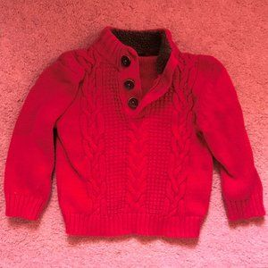 Cherokee Boy's Red Pullover Sweater